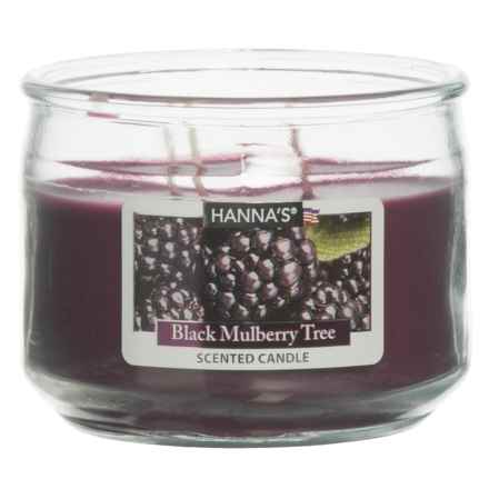 Hanna's Candle Black Mulberry Tree Candle - 11.5 oz. in Purple - Closeouts