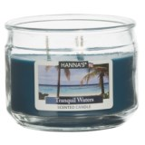 Hanna's Candle Tranquil Waters Candle - 3-Wick, 11.5 oz.