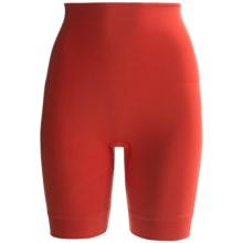 Hanro Natural Longleg Shaper Briefs - Underwear (For Women) in Scarlet - Closeouts