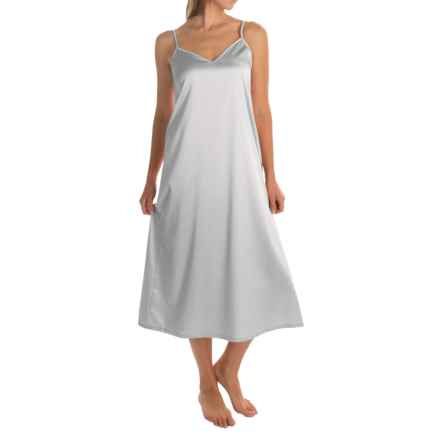 Hanro of Switzerland Long Chemise - Sleeveless (For Women) in White - Overstock