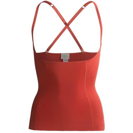 Hanro Open Bust Shaper Camisole (For Women) in Scarlet