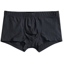Hanro Teak Underwear - Boxer Briefs (For Men) in Graphite - Closeouts