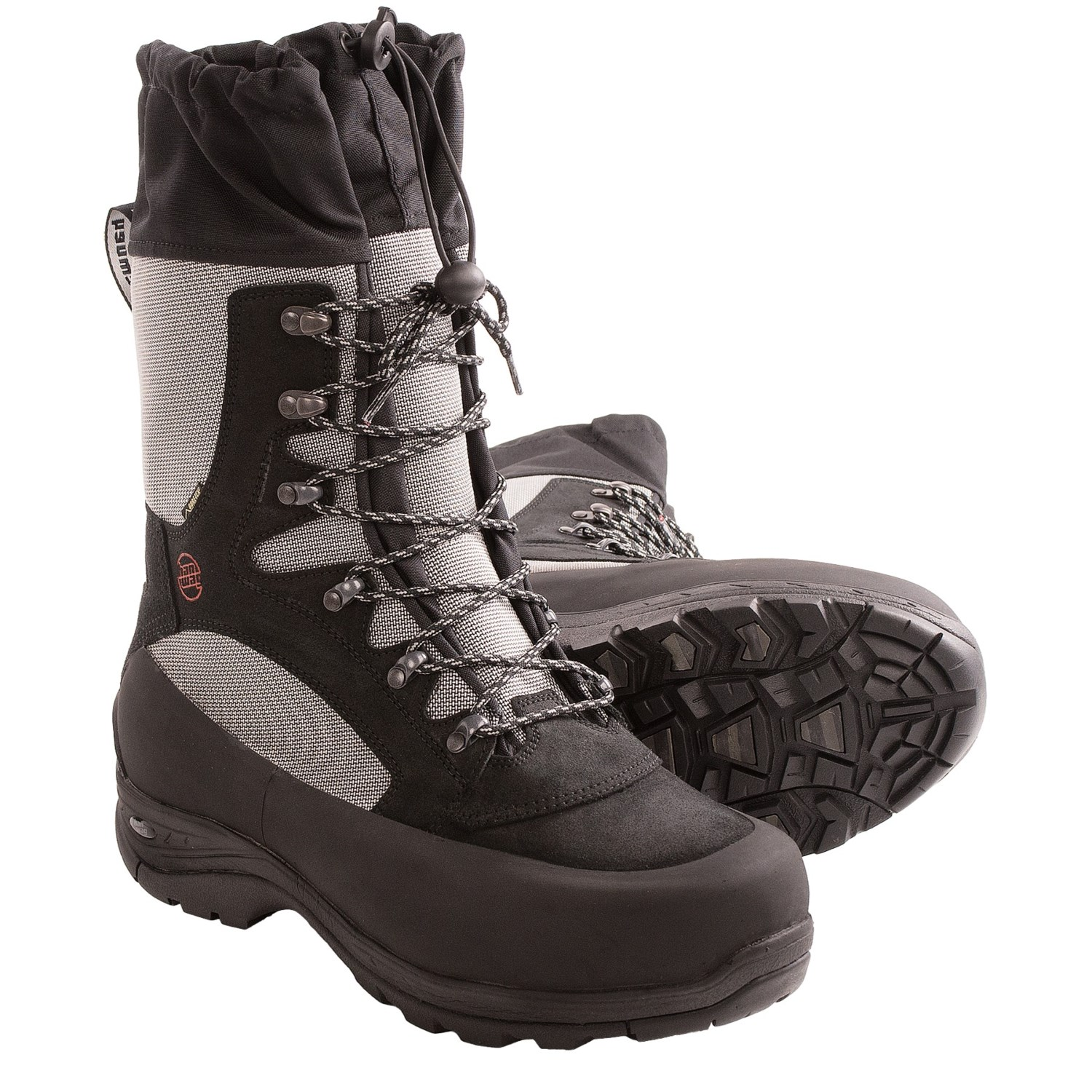 Mens Snow Boots Black | Santa Barbara Institute for Consciousness ...