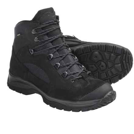Hanwag Banks Gore-Tex® Hiking Boots - Waterproof (For Men) in Black - Closeouts