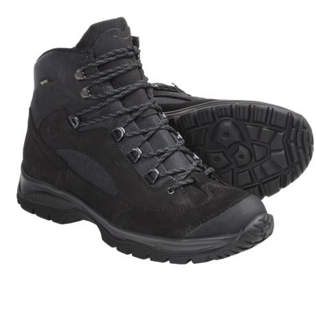 Hanwag Banks Gore-Tex® Hiking Boots - Waterproof (For Men) in Dark Grey/Ash