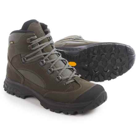 Hanwag Banks Gore-Tex® Hiking Boots - Waterproof (For Men) in Dark Grey/Ash - Closeouts
