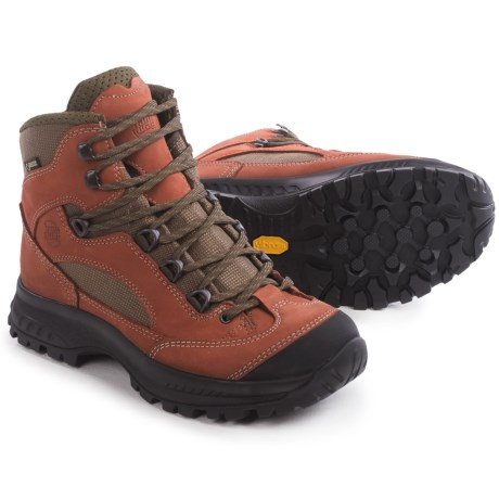 Hanwag Banks Gore-Tex® Hiking Boots - Waterproof (For Women) in Autumn Leaf