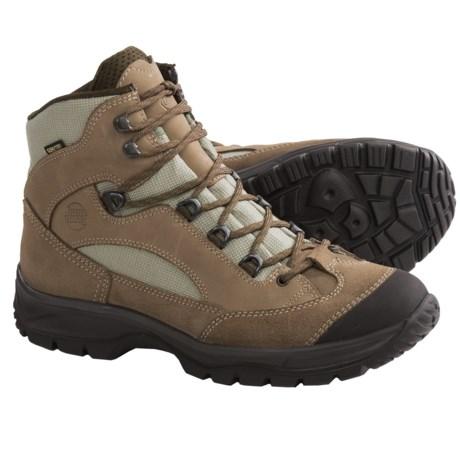 Hanwag Banks Gore-Tex® Hiking Boots - Waterproof (For Women) in Eggplant/Aubergine
