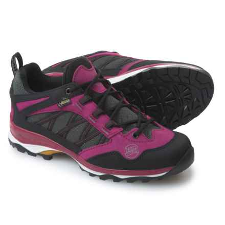 Hanwag Belorado Gore-Tex® Low Hiking Shoes - Waterproof (For Women) in Fuschia - Closeouts