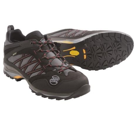 Hanwag Belorado Gore-Tex® Low Trail Shoes - Waterproof (For Men) in Black/Schwarz