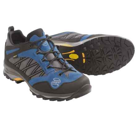 Hanwag Belorado Gore-Tex® Low Trail Shoes - Waterproof (For Men) in Un Blue - Closeouts