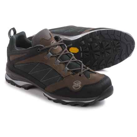 Hanwag Belorado Low Hiking Shoes - Nubuck (For Men) in Light Brown - Closeouts
