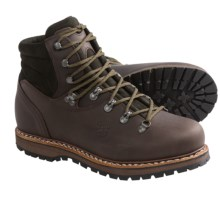 Hanwag Bergler Bio Hiking Boots - Leather (For Men) in 566 - Mocca - Closeouts