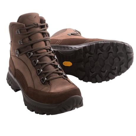 Hanwag Bryce Gore-Tex® Hiking Boots - Waterproof (For Men) in Chestnut/Marone