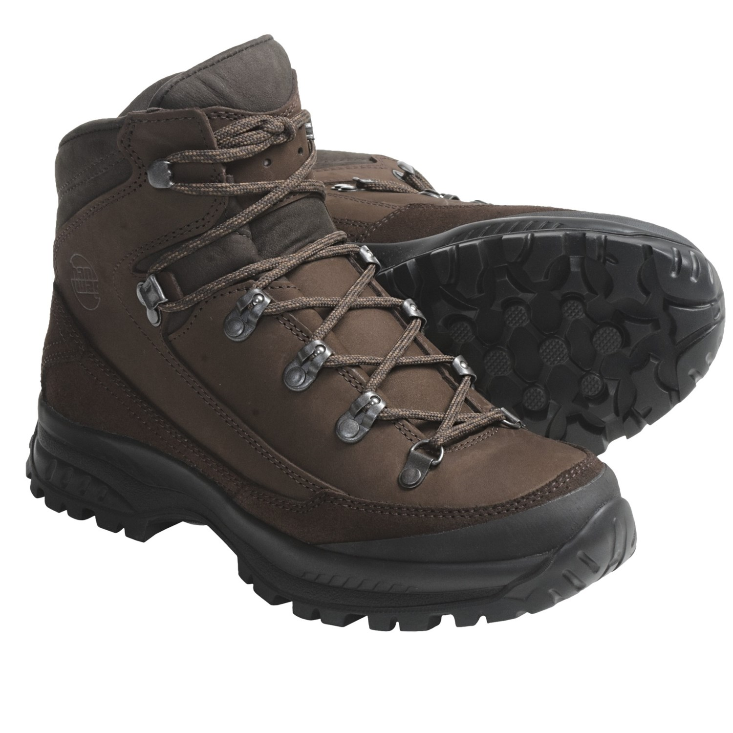 Canyon Futura Lady Hiking Boots - Leather (For Women) in Dark Brown