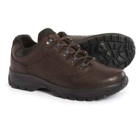 Hanwag Chamdo Hiking Shoes - Yak Leather (For Men) in Marone - Closeouts