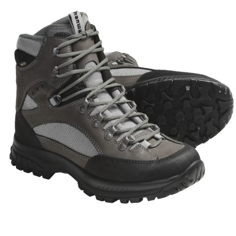 Hanwag Dakota Gore-Tex® Hiking Boots - Waterproof, Leather (For Women) in Grey