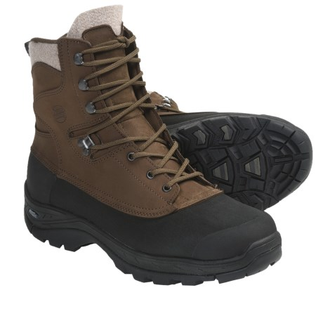 Hanwag Fjall Winter Boots - Waterproof, Leather (For Women) in Chestnut