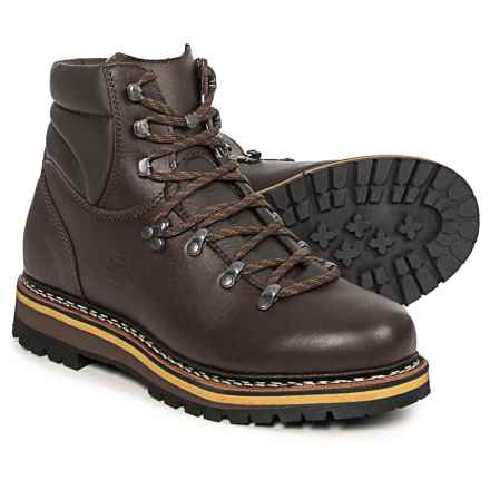Hanwag Grunten Hiking Boots - Leather (For Women) in Marone/Chestnut - Closeouts