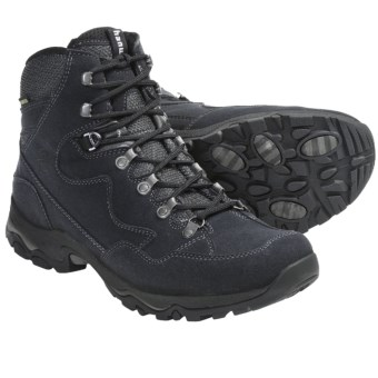 Hanwag High-Performance Mid Gore-Tex® Boots - Waterproof (For Men) in Black