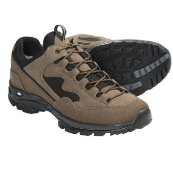 Hanwag High-Performance Trail Shoes (For Men) in Beige/Navy