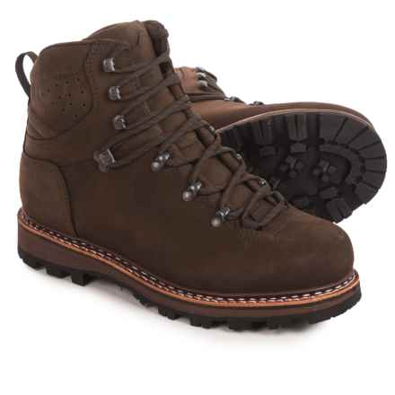 Hanwag Horndl Hiking Boots - Nubuck (For Men) in Erde Brown - Closeouts