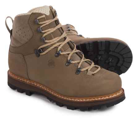 Hanwag Horndl Hiking Boots - Nubuck (For Men) in Gemse Tan - Closeouts