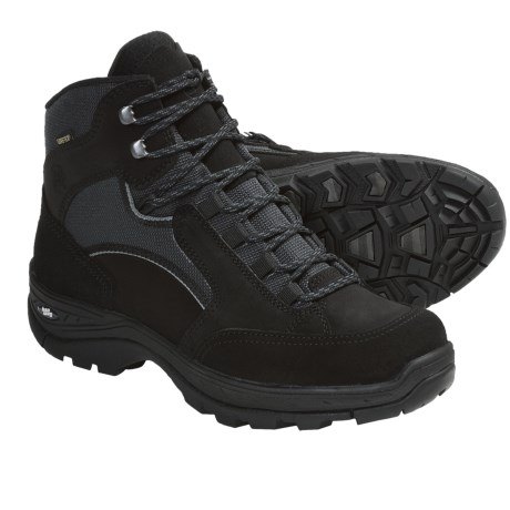 Hanwag Ivalo Gore-Tex® Hiking Boots - Waterproof (For Men) in Black