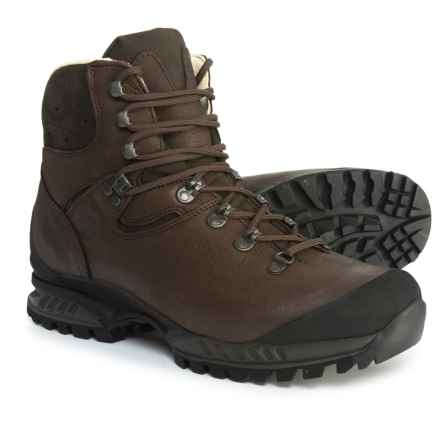 Hanwag Lhasa Hiking Boots - Yak Leather (For Men) in Marone - Closeouts