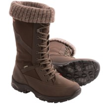 Hanwag Lunta Gore-Tex® Snow Boots - Waterproof (For Women) in Brown - Closeouts