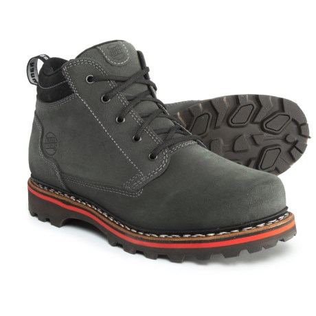Hanwag Made in Germany Kofel Mid Boots - Suede (For Men) in Slate Grey