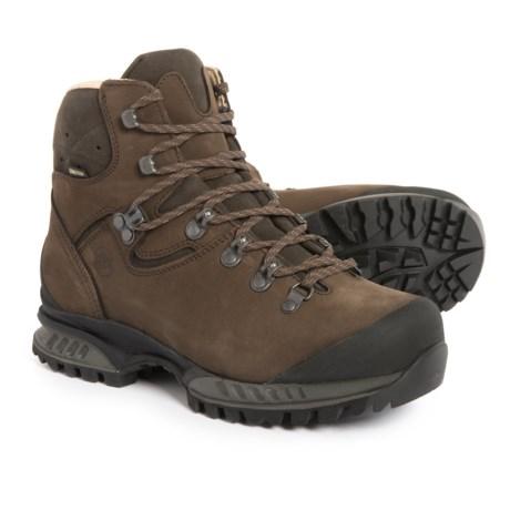 Hanwag Made in Germany Tatra Lady Wide Gore-Tex® Hiking Boots - Waterproof, Leather (For Women) in Erde/Brown