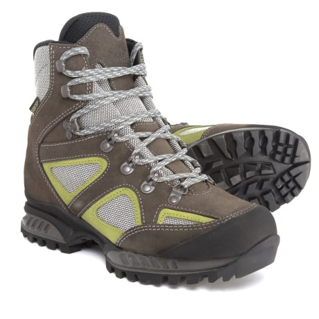 Hanwag Made in Italy Yellowstone II Gore-Tex® Hiking Boots - Waterproof (For Women) in Pistacchio