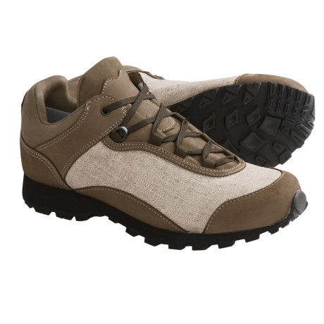 Hanwag Puro Tela Trail Shoes - Cocona® Lined (For Men) in Natur