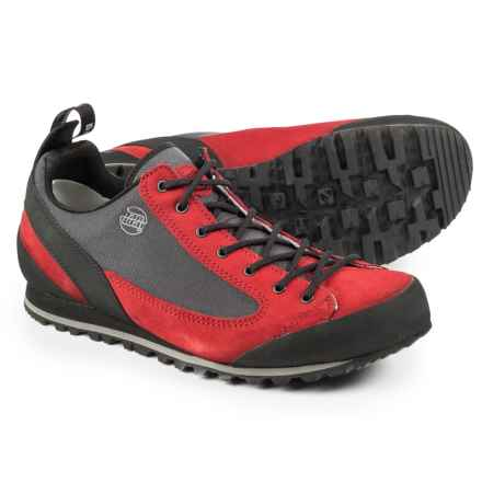 Hanwag Salt Rock Hiking Shoes (For Men) in Rubin Bright Red - Closeouts