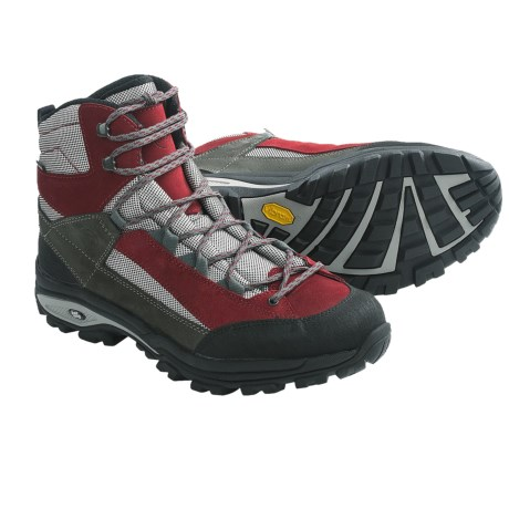 Hanwag Saponi Gore-Tex® Hiking Boots - Waterproof (For Men) in Bright Red/Rubin