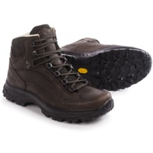 Hanwag Tingri Hiking Boots - Yak Leather (For Men) in Chestnut/Marone - Closeouts