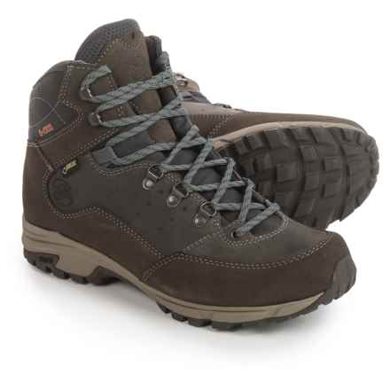 Hanwag Tudela Light Gore-Tex® Hiking Boots - Waterproof (For Men) in Asche Dark Grey - Closeouts