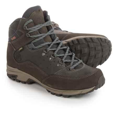 Hanwag Tudela Light Gore-Tex® Hiking Boots - Waterproof (For Men) in Asche Dark Grey - Closeouts