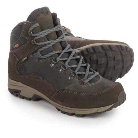 Hanwag Tudela Light Gore-Tex® Hiking Boots - Waterproof (For Men) in Asche Dark Grey