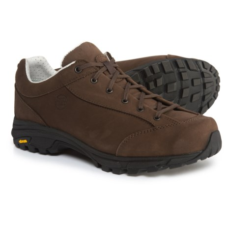 Hanwag Valungo Bunion Hiking Shoes - Nubuck (For Men) in Erde/Brown