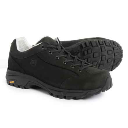 Hanwag Valungo Bunion Hiking Shoes - Nubuck (For Women) in Schwarz/Black - Closeouts