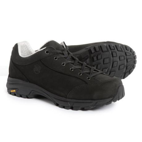 Hanwag Valungo Bunion Hiking Shoes - Nubuck (For Women) in Schwarz/Black