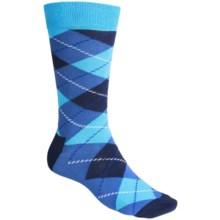 Happy Socks Argyle Socks - Cotton-Nylon, Crew (For Men) in Navy/Blue - Closeouts
