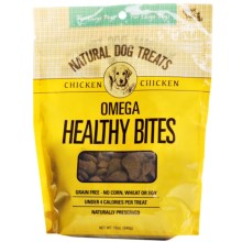 Happy Tails Omega Healthy Bites Dog Treats - Grain-Free in Chicken - Closeouts
