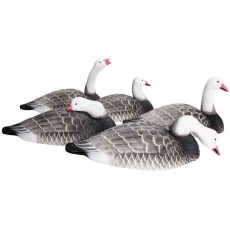 Hardcore Blue Goose Shell Feeder Decoy 12 Pack