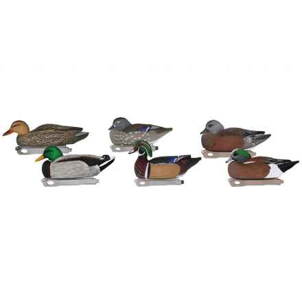 Hardcore Marsh Pack Decoys - 6-Pack in See Photo - Closeouts