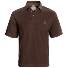 Hardy Ingram Polo Shirt - Short Sleeve (For Men) in Brown - Closeouts