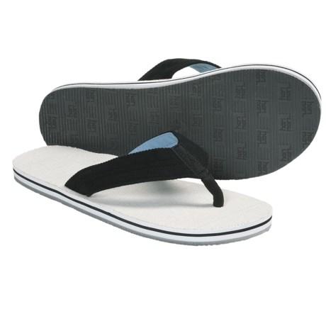 Hari Mari Parks Flip-Flop Sandals - Hemp (For Men) in Black/Blue