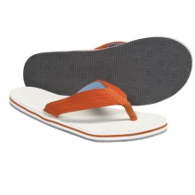 Hari Mari Parks Flip-Flop Sandals - Hemp (For Men) in Orange/Blue - Closeouts